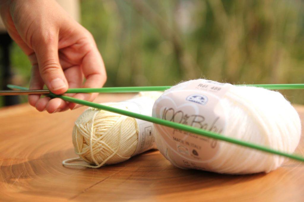 De la laine en pelote